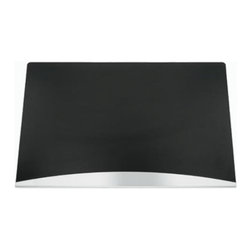 Blomus - AKTO Expert Desk Pad - Blomus desk pad brings the office area to a higher level of modern sophistication. Contemporary black with stainless steel edge and foam back.