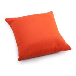 ZUO VIVA - Laguna Large Pillow Orange - Laguna Large Pillow Orange