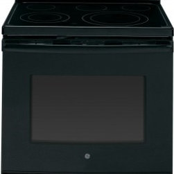 "GE - JB690DFBB 30"" 5.3 cu. ft. Oven Capacity Free-Standing Convection Electric Range - A GE electric range will meet all your cooking needs for years to come from warming a simple pan of soup for one person to handling a large dinner party or holiday meal for the whole family Plus your stove will look great in your kitchen and clean up..."
