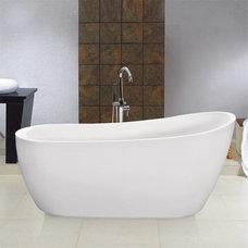 Modern Bathtubs Lucia Free-Standing Bath