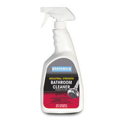 BOARDWALK - C-SOAP SCUM BATHRM CLNR W/BLCH 32OZ TRG SPRY 12 - Power through soap scum and greasy soils. Whiten with the power of bleach. 32-oz. trigger sprayer bottle. 12 bottles per case.. . . . . . . . Bathroom Cleaner. Dimensions: Height: 0.93333, Length: 1.15833, Width: 1.075. Country of Origin: US