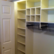 Traditional Closet by Closets In Order