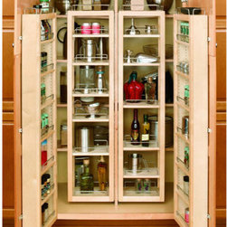 "Rev-A-Shelf 57"" Swing Out Pantry Kit - If you're looking to some functionality to an existing cabinet - this is a great option! But it may require a handyman to help you install it."