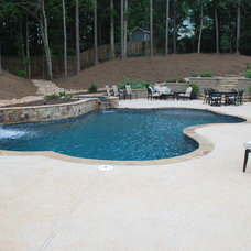 Modern  by Hilltop Pools and Spas, Inc.