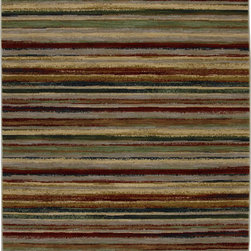 "Karastan - Karastan Crossroads 38260-15100 (Danforth) 8'6"" x 11'6"" Rug - Shades of classic red, warm honey, indigo and black are featured in this Studio by Karastan(r) collection. Accents of dove gray, terra cotta, sage and ivory highlight the tribal Suzani's, classic Persian panels, timeless Sarouk's, transitional florals and modern ikats that make up this collection. Made of New Zealand woven wool, the Crossroads collection offers a wide variety of decorating possibilities in plush, durable constructions that will meet the demands of today's active lifestyles."