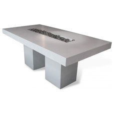 Modern Dining Tables by Concrete by LCDA