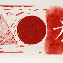 James Rosenquist, Star Leg (2nd State), Color Etching - Artist:  James Rosenquist, American (1933 - )