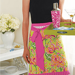 Lilly Pulitzer® Apron - Garnet Hill - If your friend likes classic Palm Beach Preppy over Scandanavian Geometric, opt for this colorful Lilly Pulitzer apron.