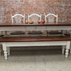 Farmhouse Dining Tables by LakeandMountainHome