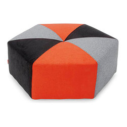 Sixtree Ottoman - Available in a variety of colors - there's sure to be one that fits your style. Placed in the center of the room