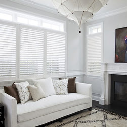 "Smith and Noble Durawood Shutters - Shutters have long been considered the ""best of the best"" in window coverings, prized for their warmth, architectural beauty, and the enduring value they add to any home. Starting $29 Per Square Foot"