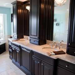 bathroom vanities and sink consoles by Alexander Lumber Company