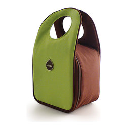 Milkdot - Stöh Lunch Tote, Lime - Stöh is a modern yet practical solution for a lunch bag that combines clean and simple design with features perfect for stowing your favorite food, drink and utensils and cool enough for the whole family to carry too. Sleek and timeless, Stöh is for all-ages. Lightweight and folds flat for easy storage after use.