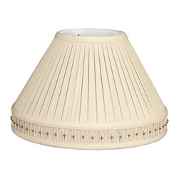 Royal Designs, Inc. - Empire Pleated Bottom Gallery Designer Lampshade - This Empire Pleated Bottom Gallery Designer Lampshade is a part of Royal Designs, Inc. Timeless Designer Shade Collection and is perfect for anyone who is looking for an elegant yet detailed lampshade. Royal Designs has been in the lampshade business since 1993 with their multiple shade lines that exemplify handcrafted quality and value.