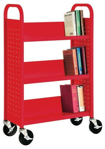 Eclectic Bookcases by worthingtondirect.com