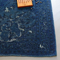 Bursa Rug - Get a unique, world-traveler look without going anywhere with this beautiful blue rug.