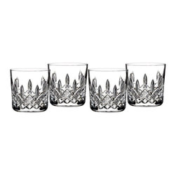 Waterford Crystal - Waterford Crystal Classic Lismore 9oz Tumbler Set of 4 165027 - Waterford Crystal Classic Lismore 9oz Tumbler Set of 4 165027  -  Size: 9oz  -  Don't Buy From An Unauthorized Dealer  -  Genuine Waterford Crystal  -  Fully Authorized U.S. Waterford Crystal Dealer  -  Stamped With The Waterford Seahorse Symbol Of Excellence