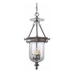 Murray Feiss Lighting - Murray Feiss Lighting-F2802/3ORB-Luminary - Three Light Hall Chandelier - *Canopy Included.