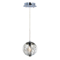 ET2 - ET2 E24251-91PC Orb 1-Light Pendant - ET2 E24251-91PC Orb 1-Light Pendant