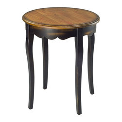 Safavieh - Safavieh Kailey Round Side Table X-A0204HMA - The lovely vintage look of the Kailey side table is inspired by antiques that have been lovingly passed down for generations.