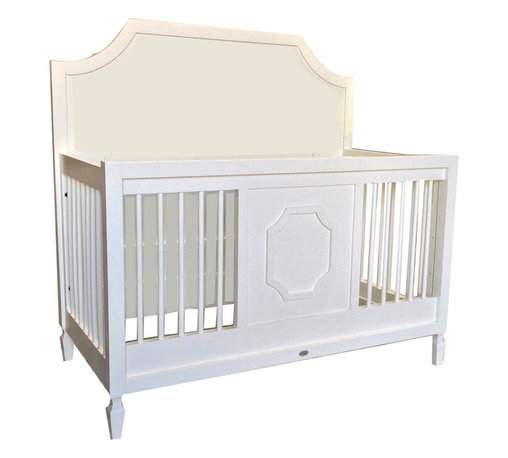 Newport Cottages - Beverly Conversion Crib - A crib that transforms as your child gets older? Genius! The crisp clean lines and classic molding make for a seamless transition from crib, to toddler bed, to full-sized bed. Such a smart (and smart looking) investment.