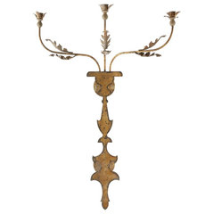 traditional wall sconces by Candelabra