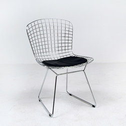 Modern Classics - Bertoia: Hourglass Chair Reproduction - Features: