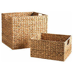 contemporary baskets by Pier 1 Imports