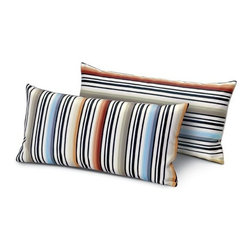 Missoni Home - Missoni Home | Janisey Neutral Pillow 12x24 - Design by Rosita Missoni.