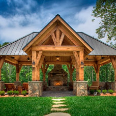 Traditional Patio by Augusta Homes
