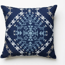 Outdoor Rio Tile Pillow - I love to treat my outdoor spaces just like my indoor ones by using pillows to add color and pattern. Many options nowadays are made of truly sun- and weather-proof fabrics, so there's no reason not to splurge.