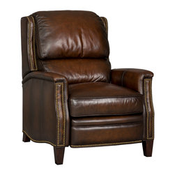 Hooker Furniture - Hooker Furniture Recliner RC262-085 - Finish: Ludlow