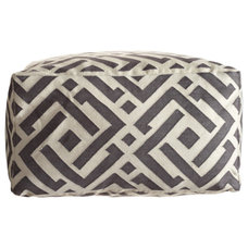 Mediterranean Footstools And Ottomans by Calypso St. Barth