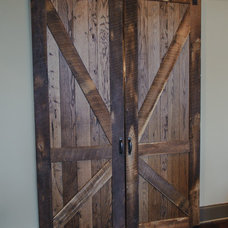 Rustic Interior Doors by Blalock Homes LLC