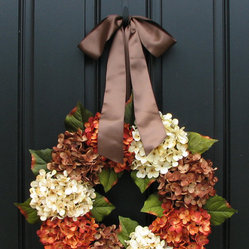 Fall Wreath by Two Inspire You