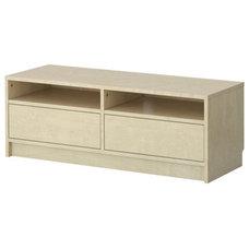 BENNO TV unit - birch veneer - IKEA