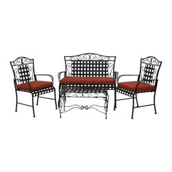 Blazing Needles - Blazing Needles Outdoor All Weather 3-Piece Patio Cushion Set - 93450-REO-12 - Shop for Cushions and Pads from Hayneedle.com! Revamp our outdoor lounge area in style with the Blazing Needles Outdoor All Weather 3-Piece Patio Cushion Set. This 3-piece set is made of a soft weather-loving fabric that is fade- and water-resistant. It comes in a wide range of color and pattern options to make it easy to match your style. The poly fill offers padded comfort and the handy ties keep it in place.About Blazing NeedlesBlazing Needles L.P. specializes in the manufacture of cushions pillows and futons. As a sister company of International Caravan Inc. Blazing Needles provides a wide variety of cushions to fit the frames and furniture pieces made by International Caravan. In particular Blazing Needles' production of papasan cushions occupies a unique niche within their industry and sets them apart as a prime supplier for certain retailers. Other services they provide include contract filling sewing and import sourcing. The headquarters of International Caravan and Blazing Needles is located in Fort Worth Texas.
