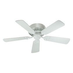 "Quorum International - Quorum International 51425-8 Studio White Medallion 42 Traditional / - 42"" Medallion Indoor Ceiling FanLifetime Motor WarrantyFive Blades, 42"" Blade Sweep14-Degree Blade Pitch153 x 13 Motor Size3 Speeds-Reversible221/160/97 RPMS on H/M/LRemote Control AdaptableDetachable Switch CupGloss White, White Blades"