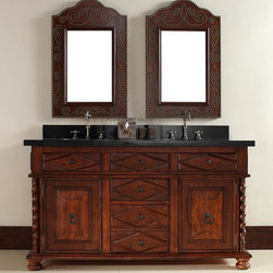 "60"" Continental Double Sink Vanity -"