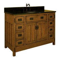 "48"" American Craftsman Single Bath Vanity (AC4821D) -"