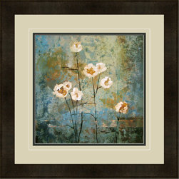 """Mantle Art Company - """"Textures II"""" modern framed art - Beautiful modern art custom framed by designers to bring out the best in this piece of art. Made in the USA"""