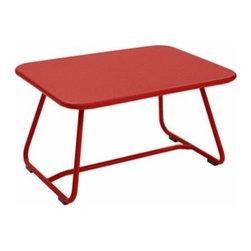 Fermob - Sixties Low Table | Fermob - Design by Frédéric Sofia.