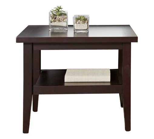Jesper - Jesper - Entertainment Collection - Wood End Table - Espresso - This high-performing Entertainment Collection is cleverly designed making it easy to create the ideal media space in a small corner or large airy space.
