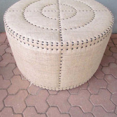 Eclectic Footstools And Ottomans by red: modern lines . vintage finds