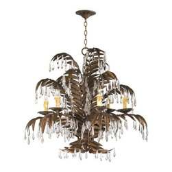 Cyan Design - Cyan Design 6507-6-17 Largo 6 Light 1 Tier Chandelier - Features: