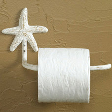 Eclectic Toilet Paper Holders by Iron Accents