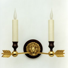 Traditional Wall Sconces by Tisserant Art & Style