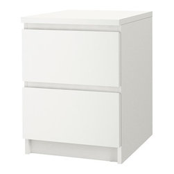 IKEA of Sweden - MALM Chest with 2 drawers - Chest with 2 drawers, white
