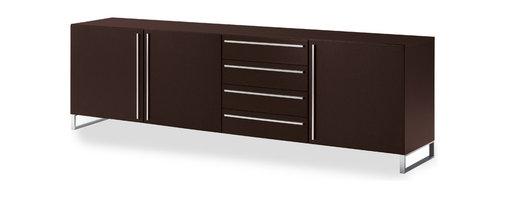 Domitalia - Life-3C Sideboard - -Sideboard Veneered Frame