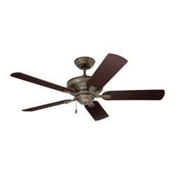 "Emerson - Emerson CF452 Bella 52"" 5 Blades Hanging Indoor Ceiling Fan Energy Star Certifie - Features:"